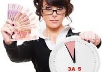 Как быстро оформить кредит наличными.